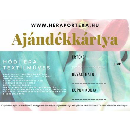 Ajándékutalvány HEraPortéka vásárlására 10000Ft értékben