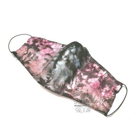 Maszk selyemből, alkalmi maszk hernyóselyemből